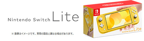 nifty光 Nintendo Switch Lite